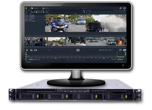 MULTIEYE Black-Box Media Recorder zur Überwachung und zum Nachweis von Ereignissen und Aktivitäten