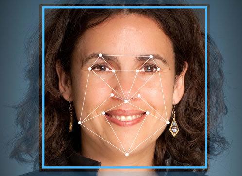 Software zur Gesichtserkennung. Tool mit Videoanalyse. Zutrittskontrolle. Erkennung von Personen.